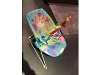 Fisher price rainforest bouncy seat