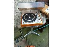 Philips Record Player no speakers