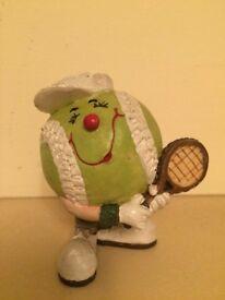 Sculptures Uk Tennis Ball Figurine