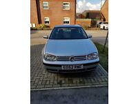 Vw golf 1.6 16v se for sale