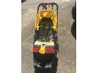 Mamas&papas pushchair and buggy board