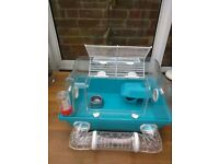 Pets At Home Small Hamster Cage and Accessories in good condition