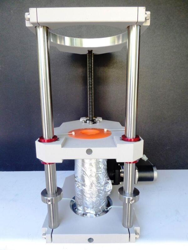 "Huntington MPMZ-450-I2 HiVac Z-Axis Manipulator Motorized 4.5"" NEW (3990)"