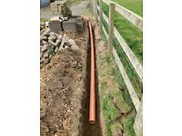 Drainage pipe 110 mm