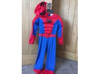 H&M Spider-Man outfit age 6-7
