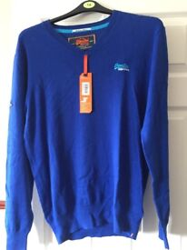 Brand new super dry jumper with tags
