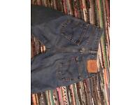 Levi's vintage shorts and mom jeans waist 28