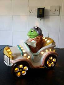 Wind in the willows mr toad in a car night light
