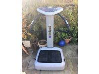 Vibro Gym Plate. Great for toning and weight loss.