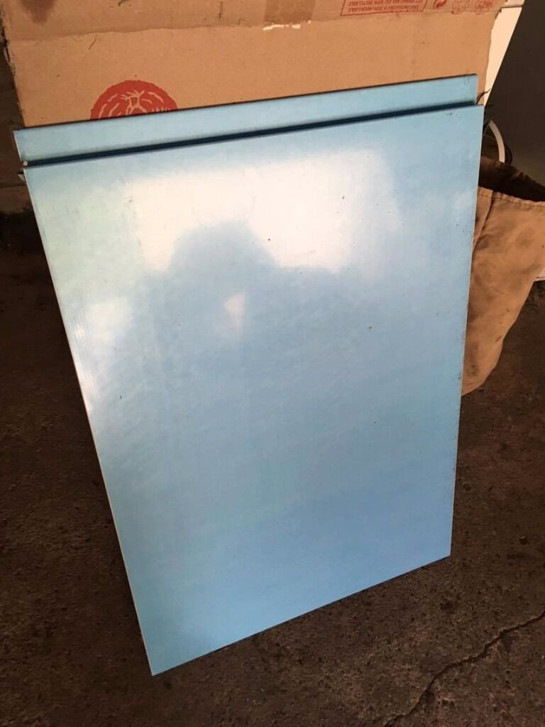 Howdens 500mm width matt white full height kitchen unit door | in ...