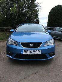 Seat Ibiza Toca 1.4Ltr 5Dr Manual Petrol Blue **Quick Sale**