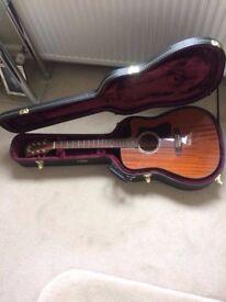 Guild D-125ce Acoustic Guitar - Mahogany - **Excellent Condition**
