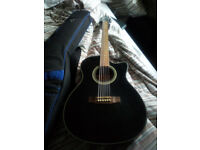 Ashland electro acoustic guitar plus bag