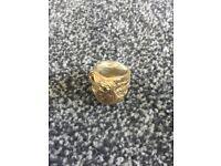 Gold Saddle Ring