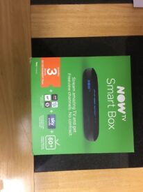 Now TV Box with Freeview less than a month old
