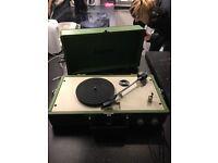 Stepletone retro record player