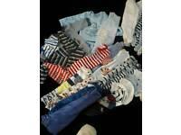 Newborn baby boy clothes bundle