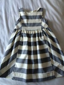 Striped girls dress age 3 years