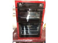 Red Newworld Electric Double Oven & Grill