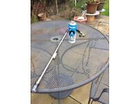 Weed wand + butane gas canister blow torch burner