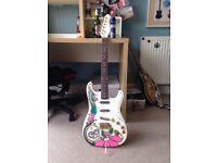 Unique Fender Stratocaster Type Guitar