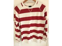 Zara Men's Striped Sweatshirt