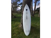 6'2 Mikel Agote Surfboard built for thurso east