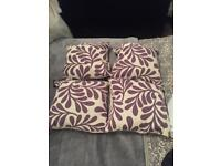 For sale ! Cushions- £10 Curtains - £10