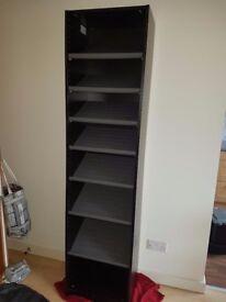 Tall Shoe Cabinet / Open Wardrobe
