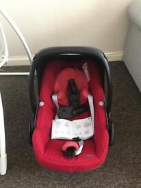 Car seat*foldable carrycot