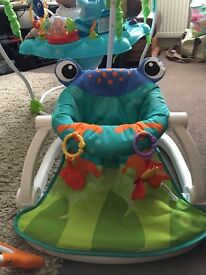 Fisher Price Froggy Sit Me Up Seat