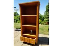 Next Oak/Oak Veneer Bookcase/Storage