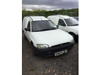 Ford escort diesel van good driver in vgcondition very good engine and gearbox No mot hence price