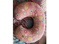 Chicco Boppy wild flowers nursing and infant support pillow