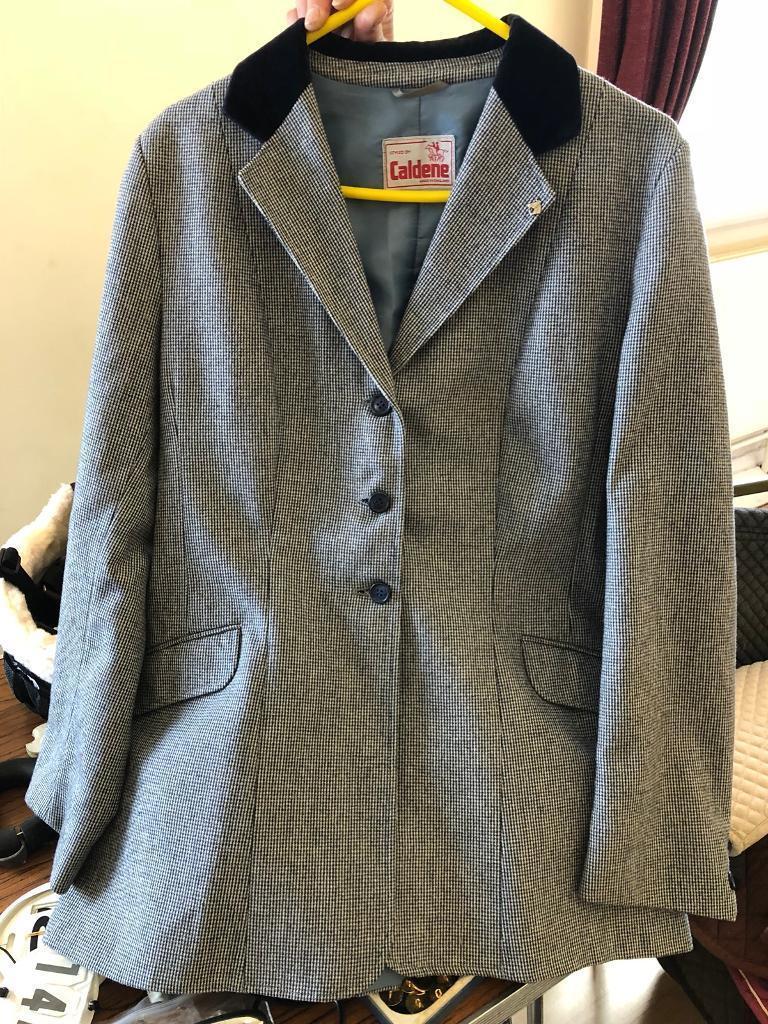 Caldene blue tweed show jacket | in Ravenshead