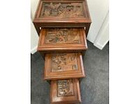 Oriental Nest of tables