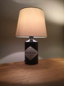 Hendricks Gin Bottle Lamp