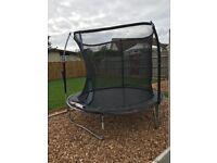 * FREE * 8ft trampoline