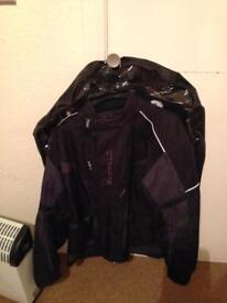 Man/boy motor bike jacket