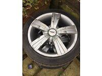 Tsw alloy wheels 205/45/16 w (ford, peouget) 4 stud