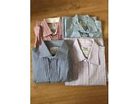 4 x Men's TM Lewin Shirts VGC