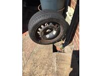 MICHELIN car tyre plus wheel. UNUSED 195/45