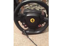 Thrust master steering wheel