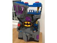 Imaginext Batman Batcave Complete working