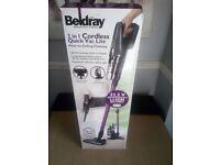 Beldray BEL0658 2 in 1 Cordless Lightweight Handheld Stick Vacuum Cleaner,