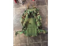 Bergan / backpack military style camo