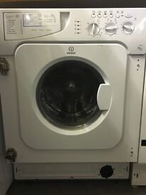 Indesit Integrated Washer Dryer - White - Reconditioned