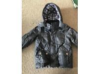 Boys jasper conran warm padded coat age 3