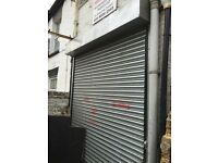 Electric roller shutter door working order