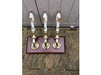 Vintage Bar Beer Pumps